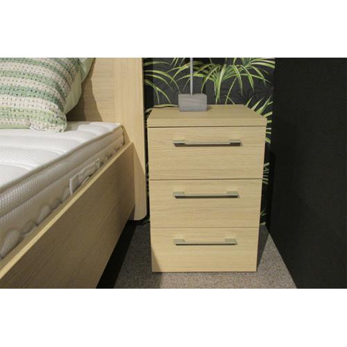 deelbaar bed - nachtkast